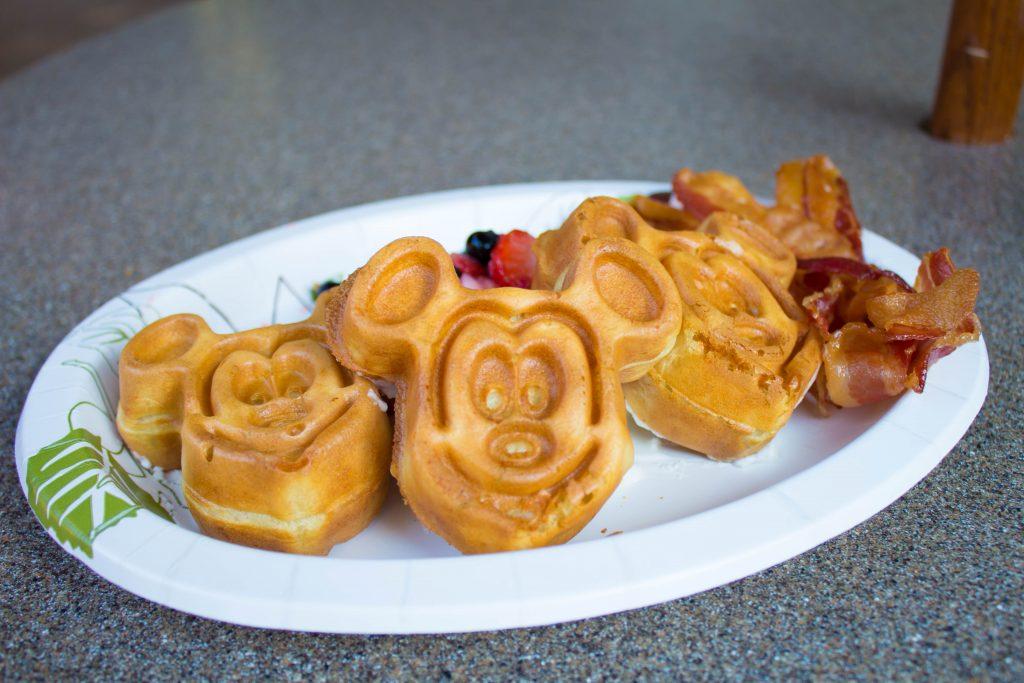 Dining - Small Mickey Waffles