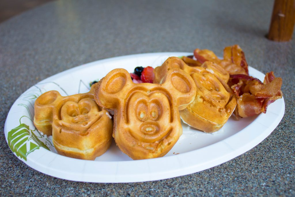Dining - Small Mickey Waffles