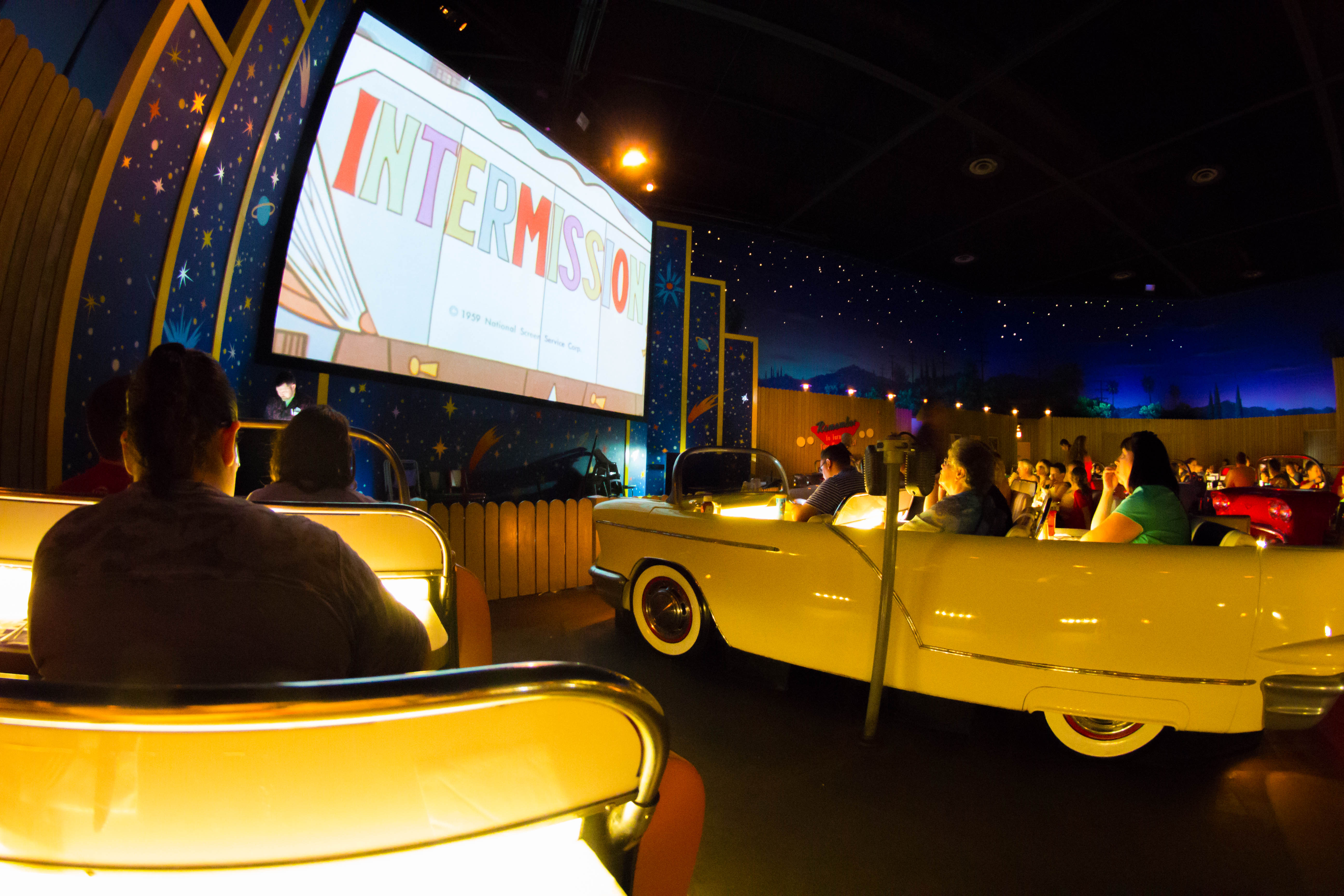 Dining - Sci-Fi Dine-In Restaurant Cars