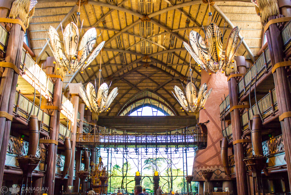 Animal Kingdom Lodge - Jambo House Lobby