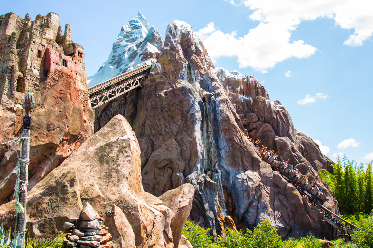 Expedition Everest on-ride photo