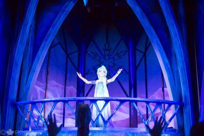 Frozen Ever After - Elsa singing Let It Go