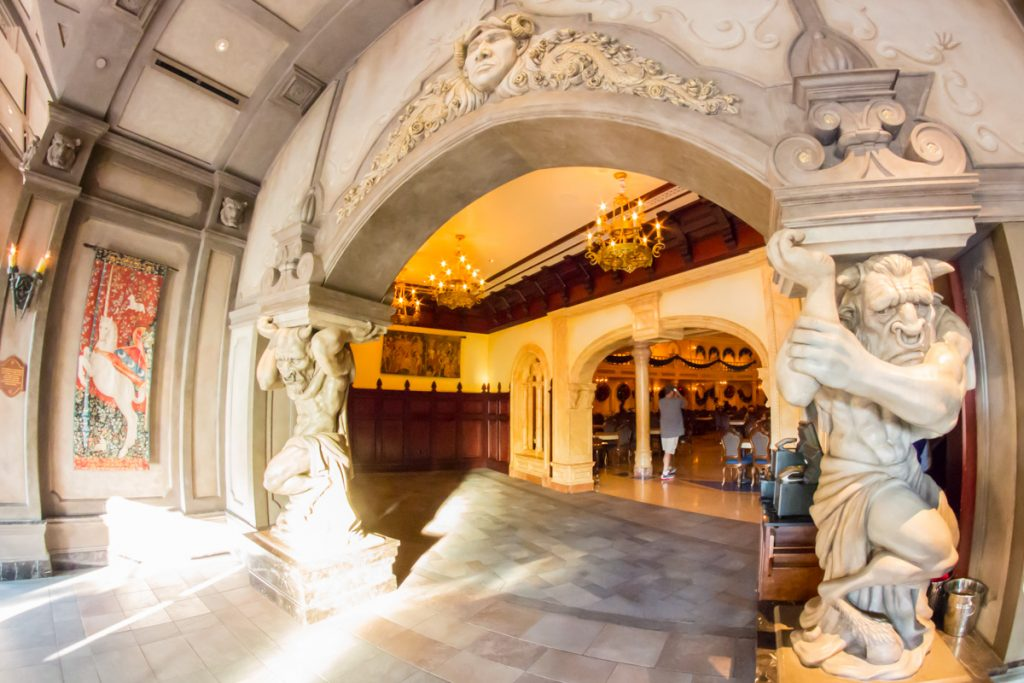 Be Our Guest Restaurant Entrance to the Grand Ballroom