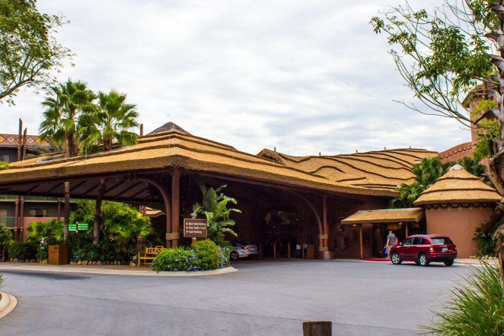 Animal Kingdom Lodge Entrance