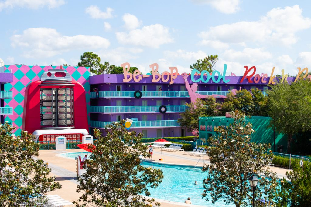 Bowling Pool at Disney's Pop Century Resort - 50's Building