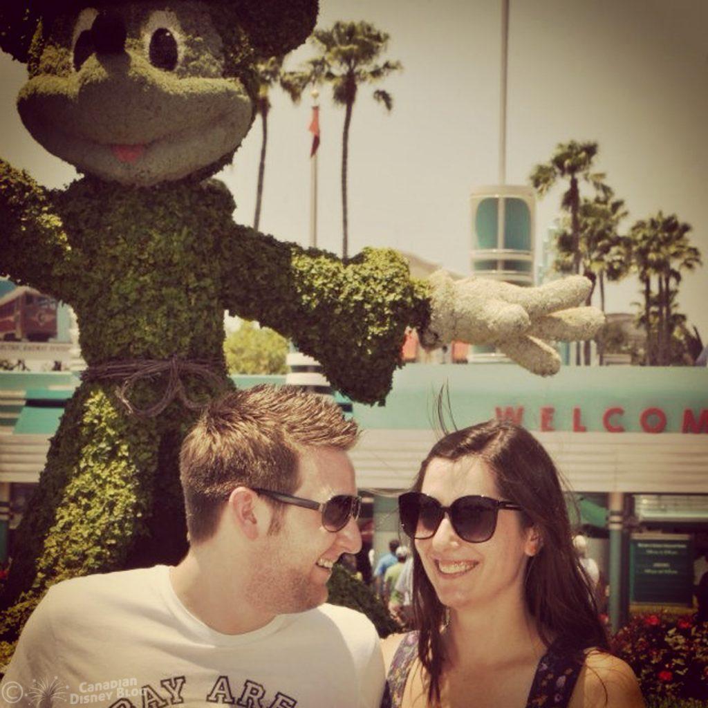 Ryan and Lauren outside Hollywood Studios
