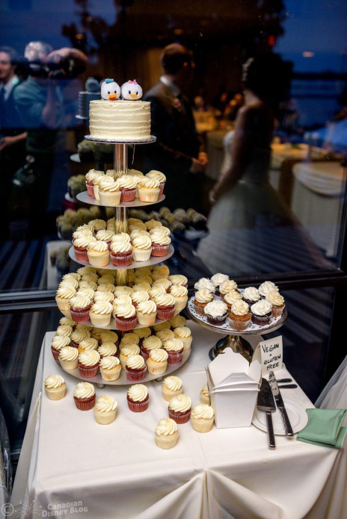 Donald and Daisy Tsum Wedding Cake Topper