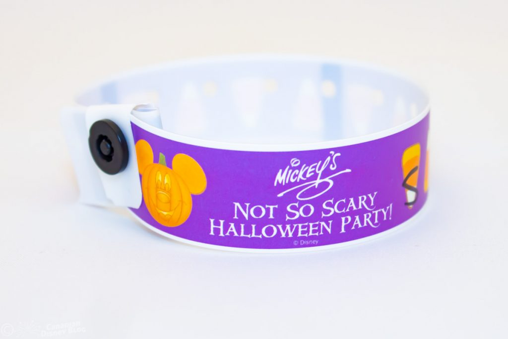 Mickey's Not So Scary Halloween Party Wristband