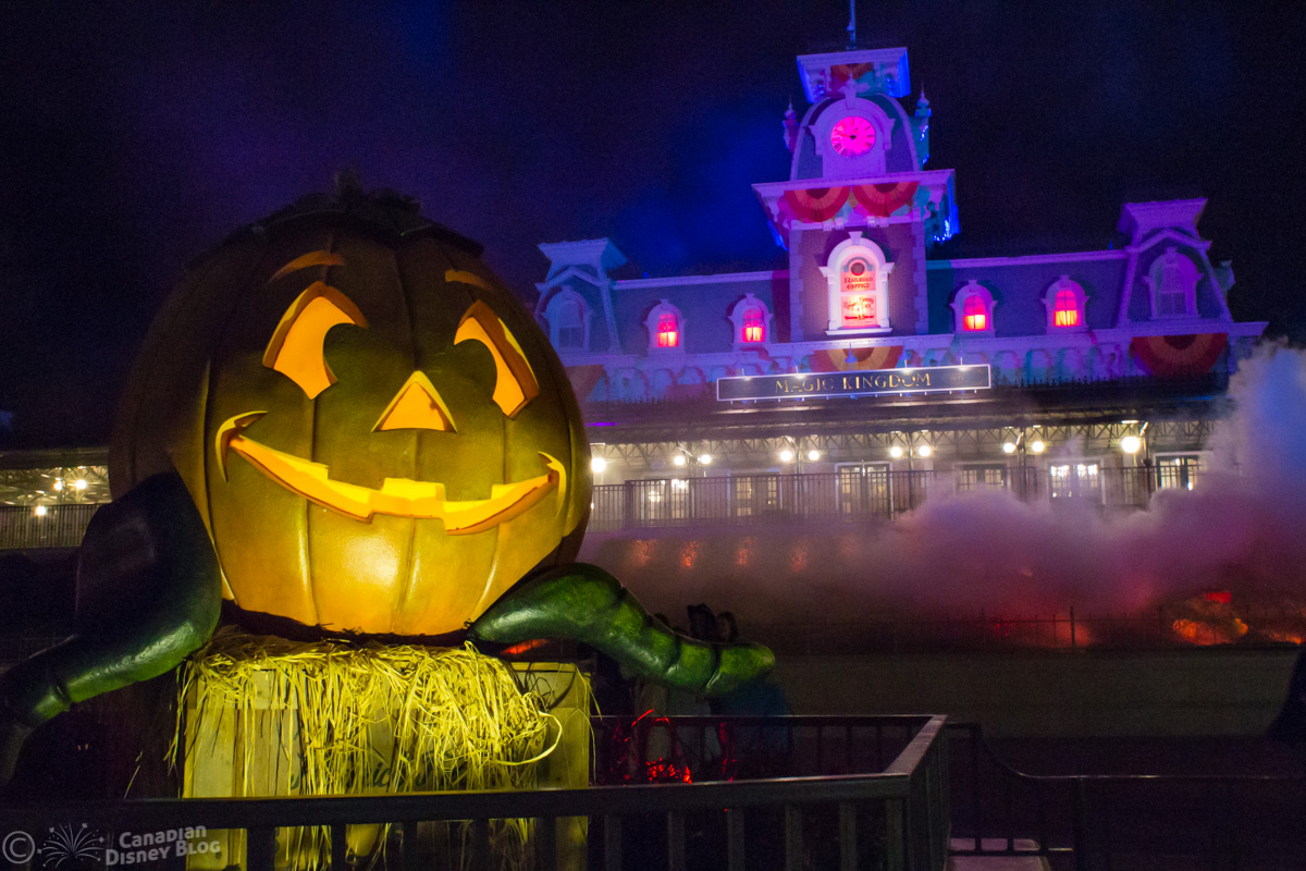 Front Entrance at Mickey's Not So Scary Halloween Party