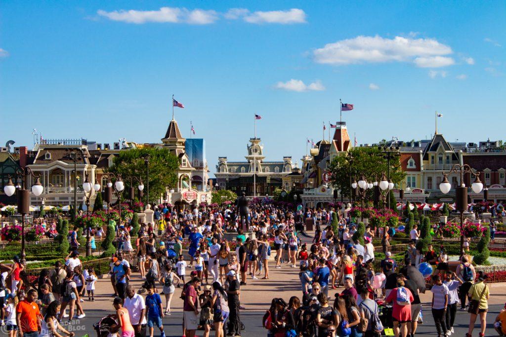 Cinderella Castle Hub in the Magic Kingdom