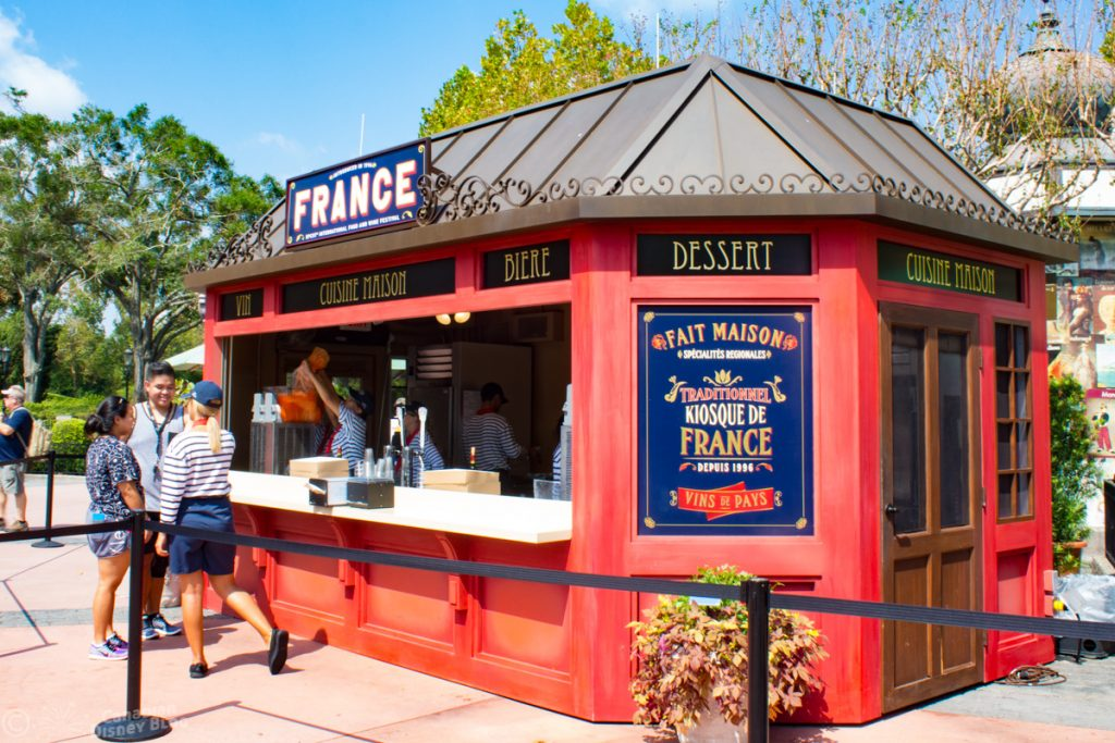 Epcot Food & Wine Festival Boot - France