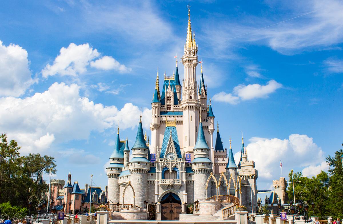 Cinderella Castle at Magic Kingdom