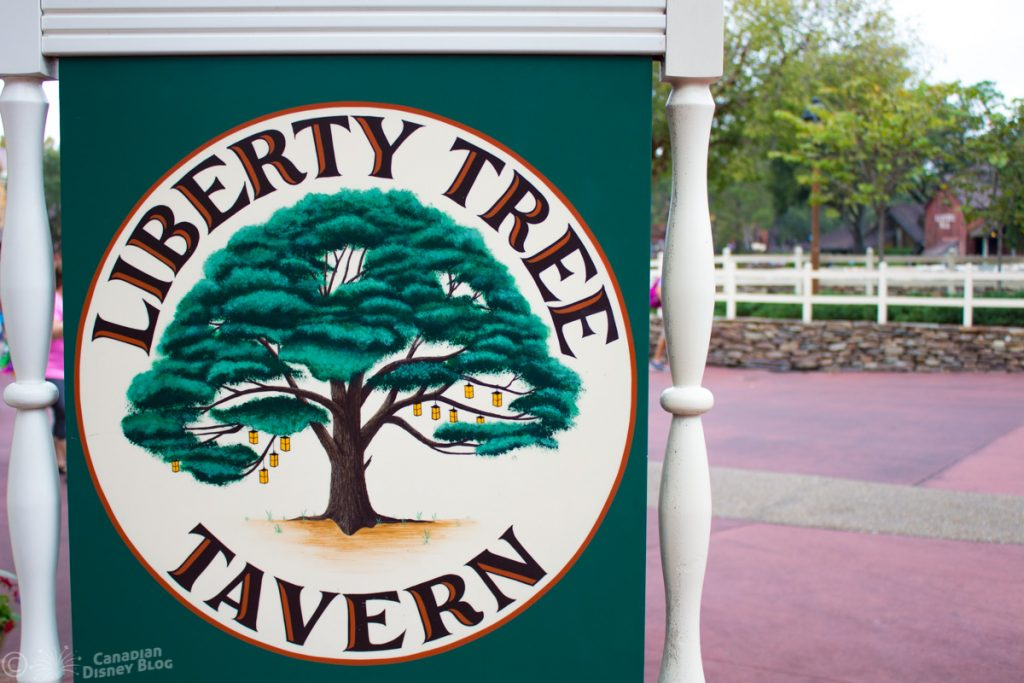Liberty Tree Tavern Restaurant in Magic Kingdom