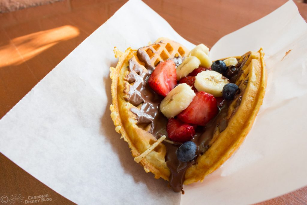Fresh Fruit Waffle at Sleepy Hollow in Magic Kingdom