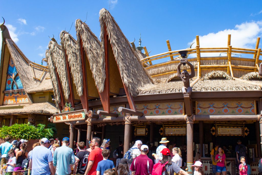 Aloha Isle in Magic Kingdom