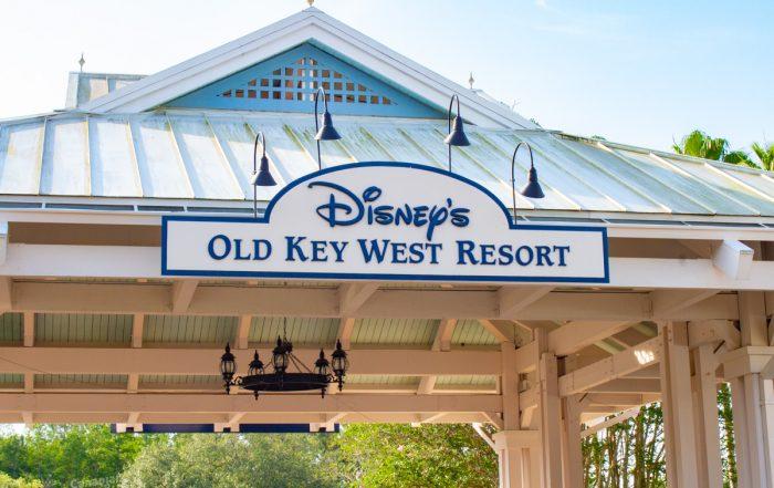 Disney's Old Key West Resort Entrance
