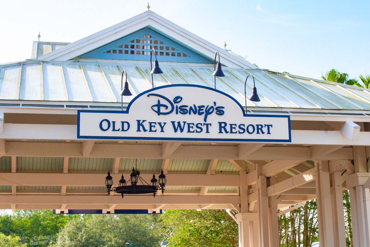 Disney's Old Key West Resort Entrance