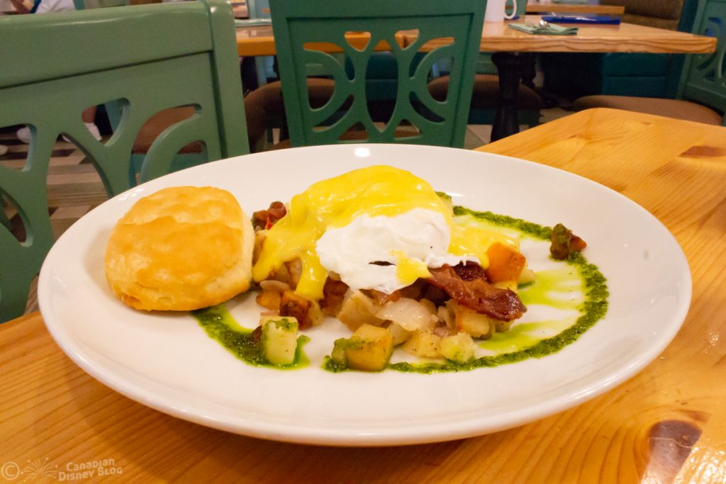 Eggs and Hash at Olivia's Cafe - Disney's Old Key West Resort