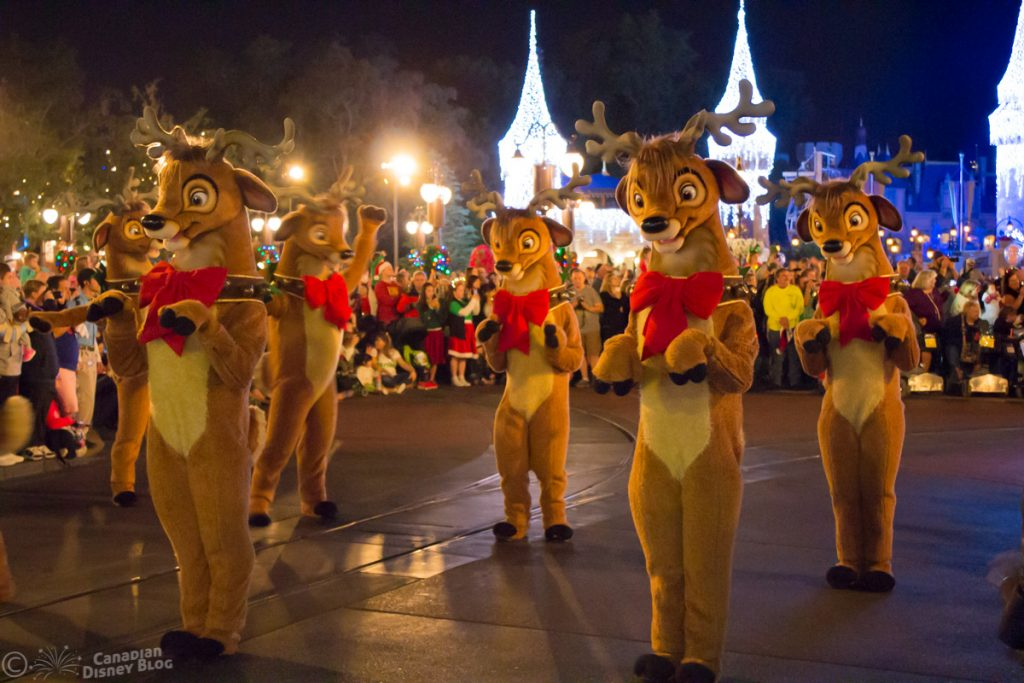 Mickey's Once Upon a Christmastime Parade Reindeer