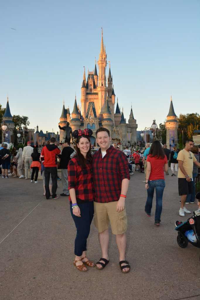 Lauren and Ryan During Mickey's Very Merry Christmas Party