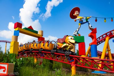 Slinky Dog Dash Coaster