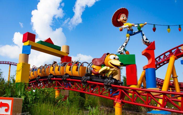 Slinky Dog Dash Coaster