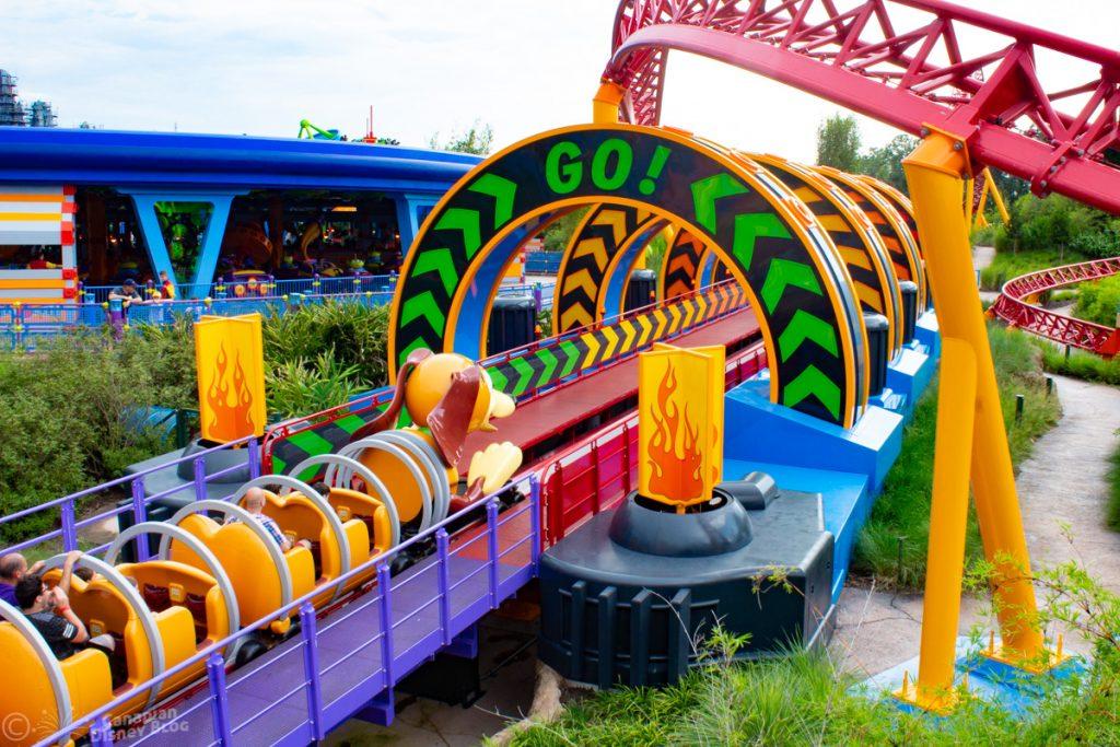 Powered Launch on Slinky Dog Dash