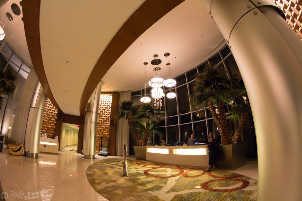 Bay Lake Tower Lobby