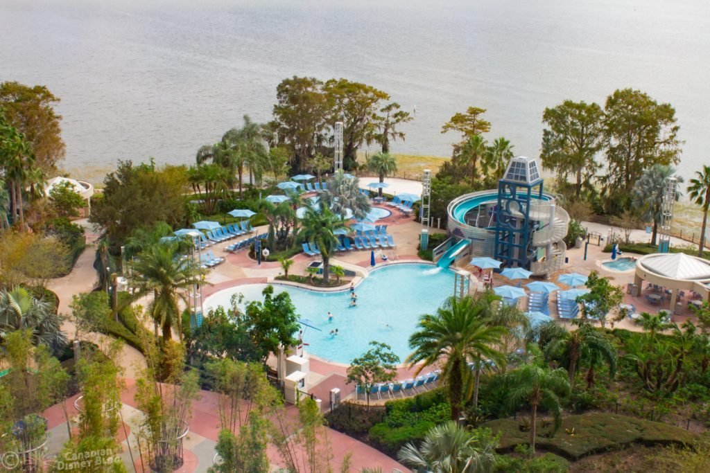 Bay Lake Tower Pool