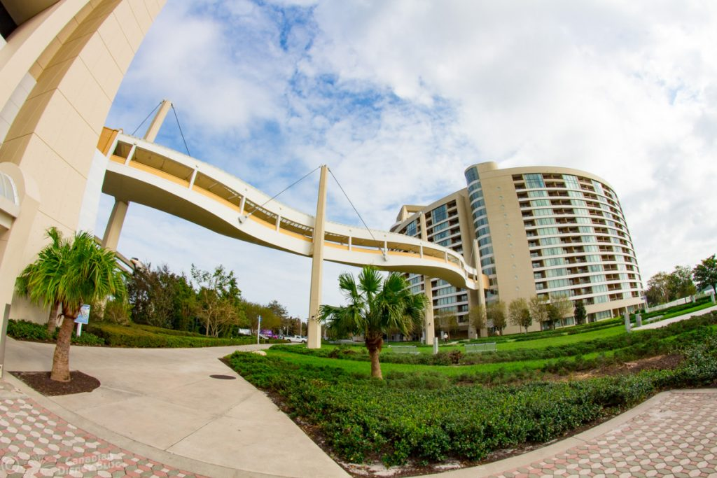 Sky Walk Bridge at Disney's Contemporary Resort