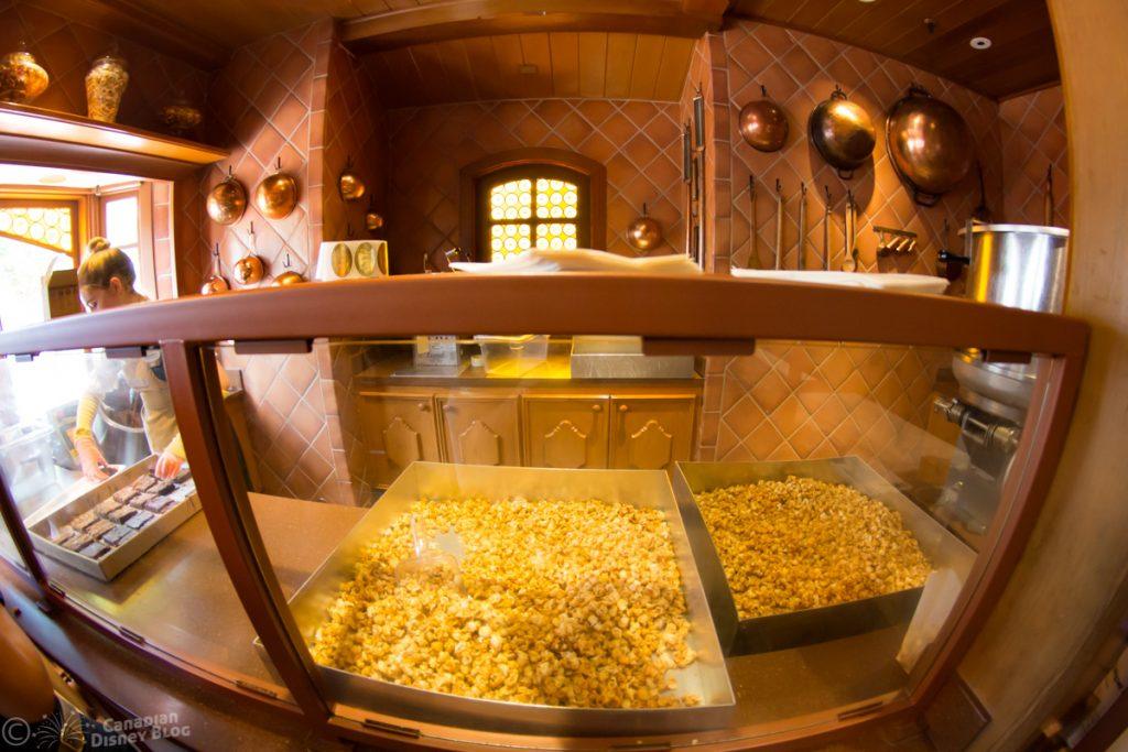 Inside Karamell Kuche in Epcot