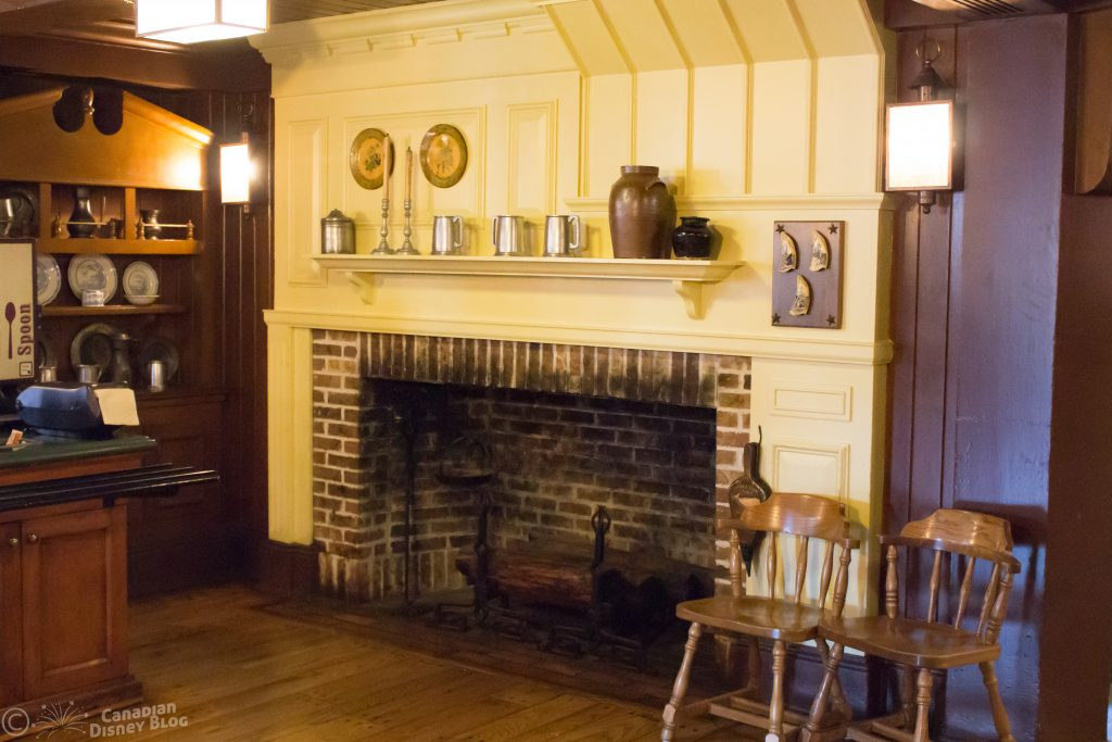 Columbia Harbour House Fireplace