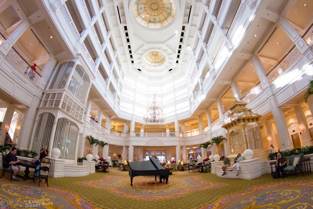 Disney's Grand Floridian Resort Lobby
