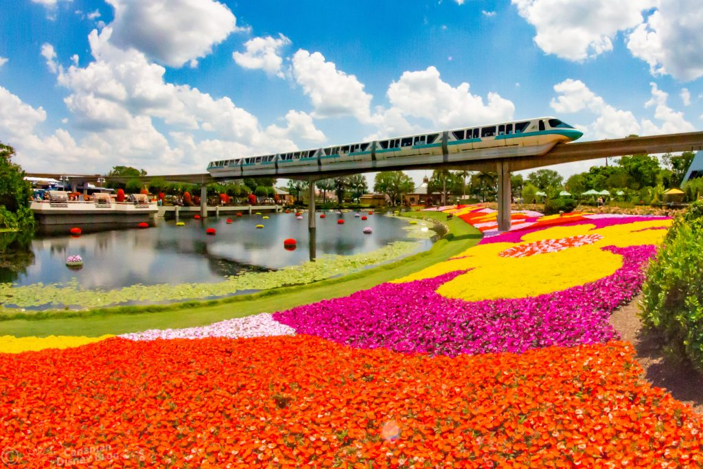 Monorail at Flower & Garden Festival