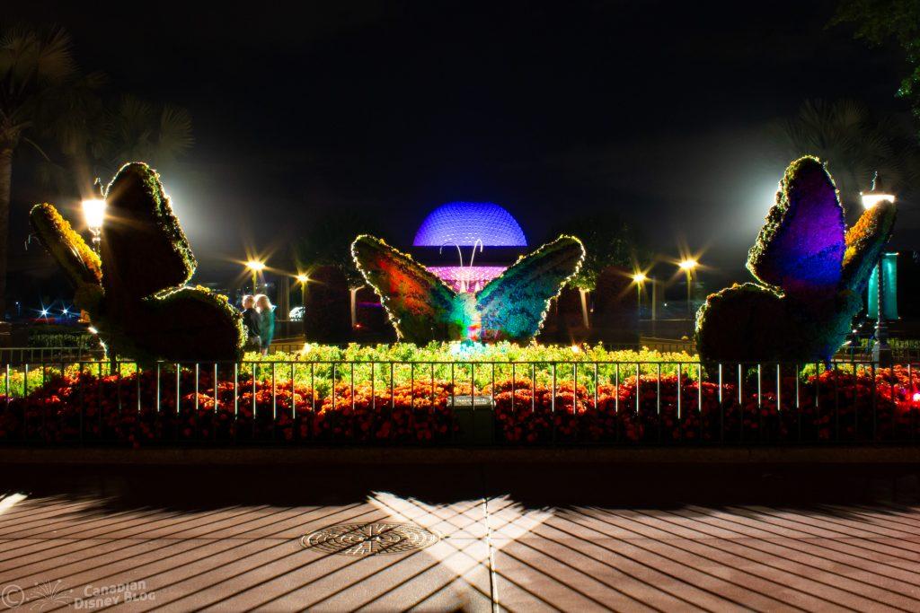 Butterfly Topiary Epcot Flower & Garden Festival