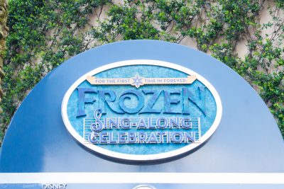 For the First Time In Forever: A Frozen Sing-A-Long Celebration at Disney's Hollywood Studios