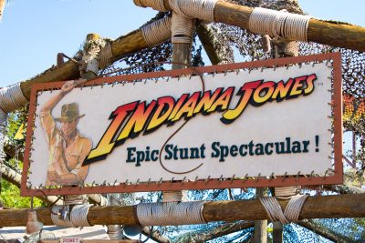 Indiana Jones at Disney's Hollywood Studios