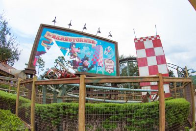 The Barnstormer at Magic Kingdom