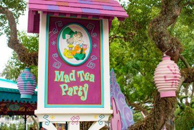 Mad Tea Party at Magic Kingdom