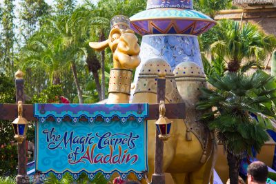 The Magic Carpets of Aladdin at Magic Kingdom