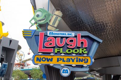 Monsters Inc. Laugh Floor at Magic Kingdom