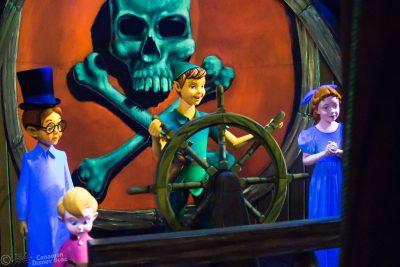 Peter Pan's Flight at Magic Kingdom