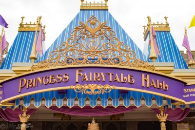 Princess Fairytale Hall at Magic Kingdom