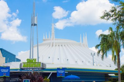 Space Mountain at Magic Kingdom