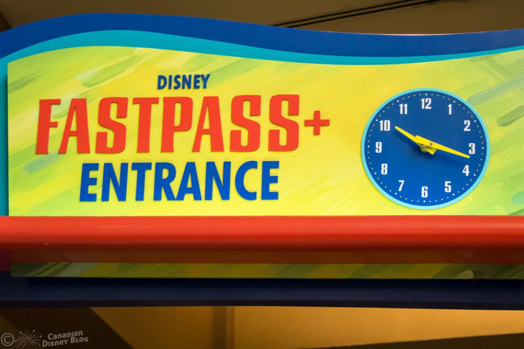 Disney FastPass+ Entrance