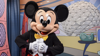 Meet Mickey & Friends at Epcot Character Spot