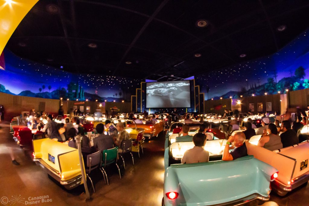 Sci-Fi Dine-In Theatre Restaurant