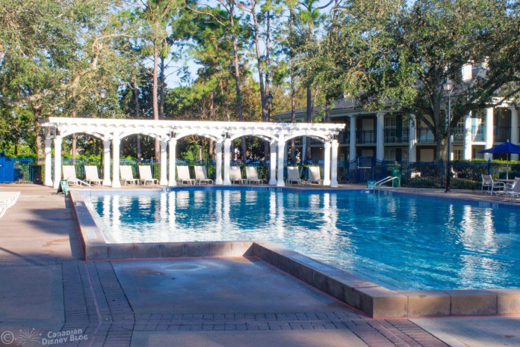 Leisure Pool at Disney's Port Orleans Resort - Riverside