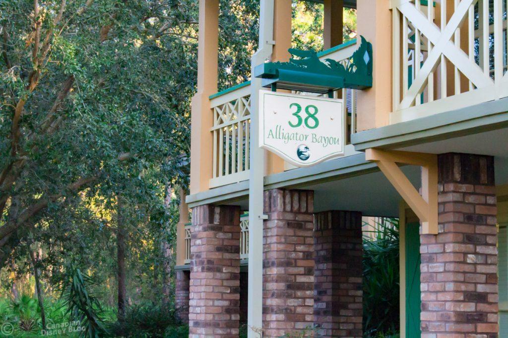 Alligator Bayou Rooms at Disney's Port Orleans Resort - Riverside