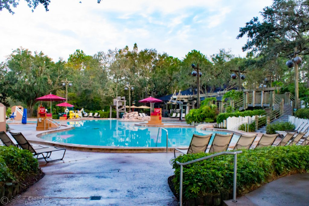 Ol' Man Island Pool at Disney's Port Orleans Resort - Riverside
